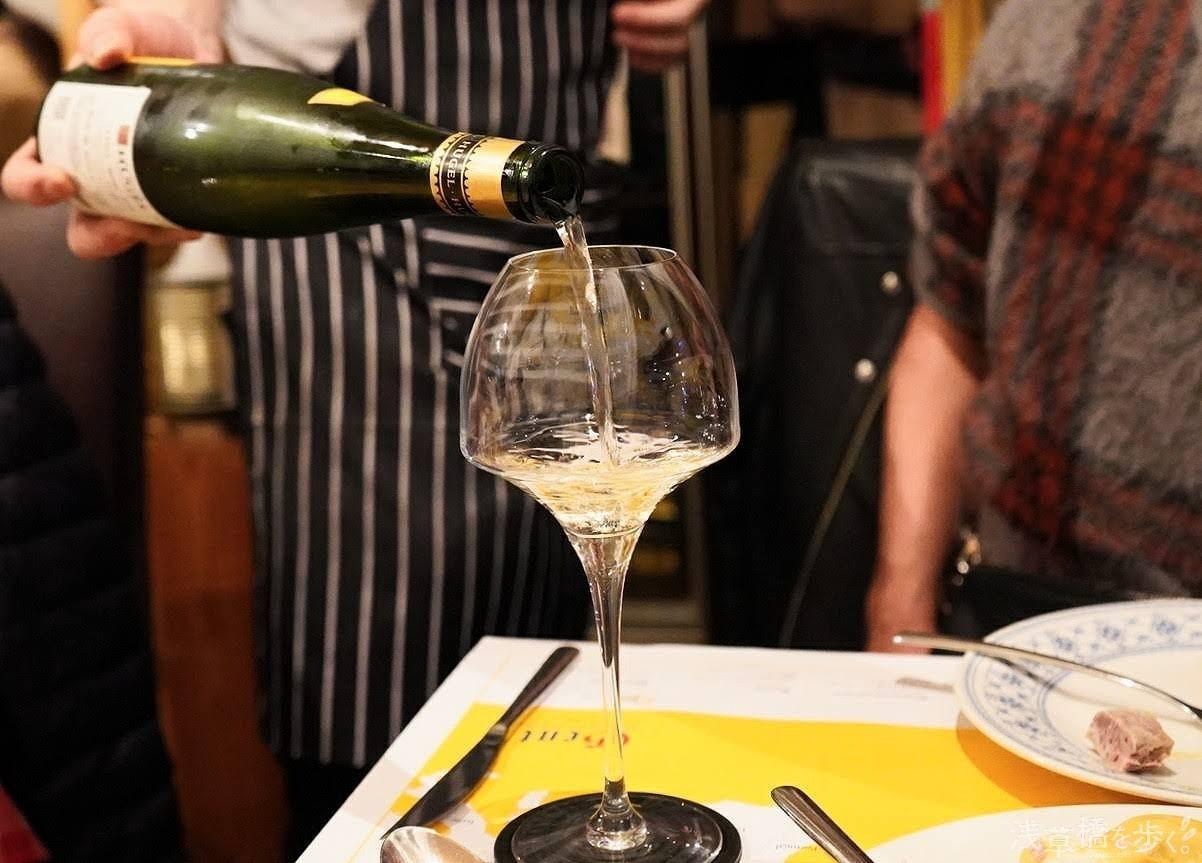 アルザスワインは1リットルの細めのボトルが特徴なんだとか