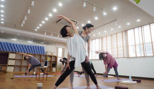 駅から徒歩1分‼地元密着型のヨガスタジオ「YOGA STUDIO  MAKOTO」でレッスン体験してきました。